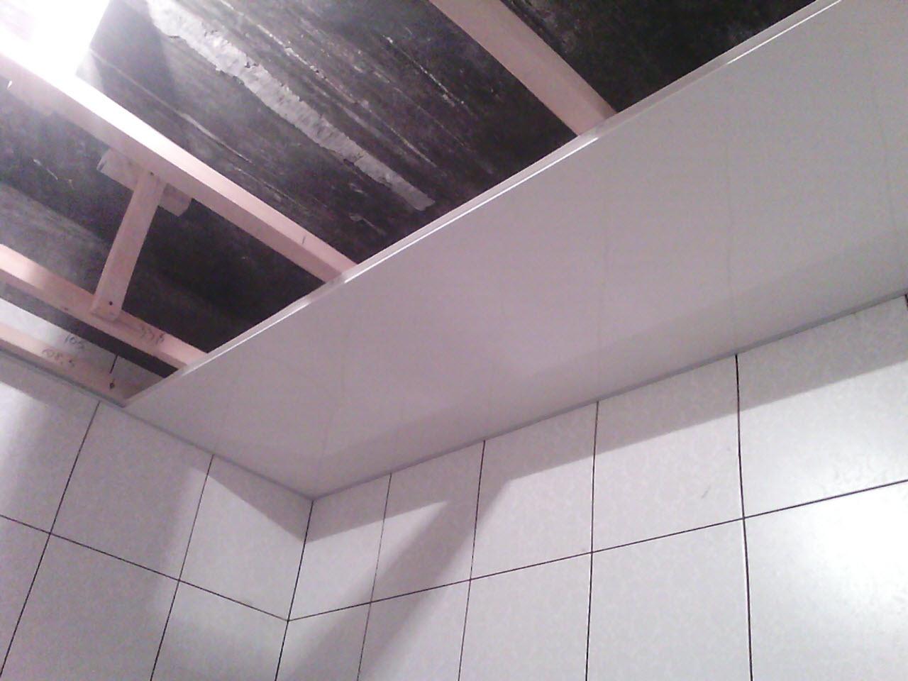 Потолок панелями пвх своими руками